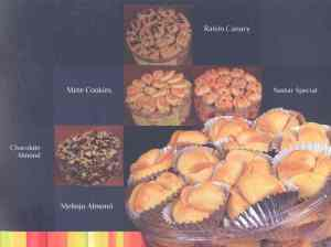 raisin canary,nastar special,mete cookies,chocolate almond, melinjo almond